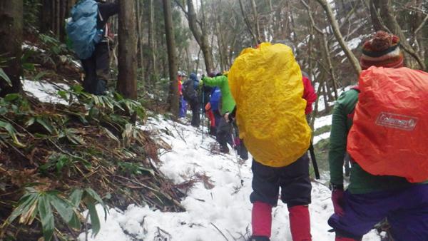 鯛の巣山登山2