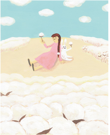 KONOITOの自然に一番近い綿製品のはなし