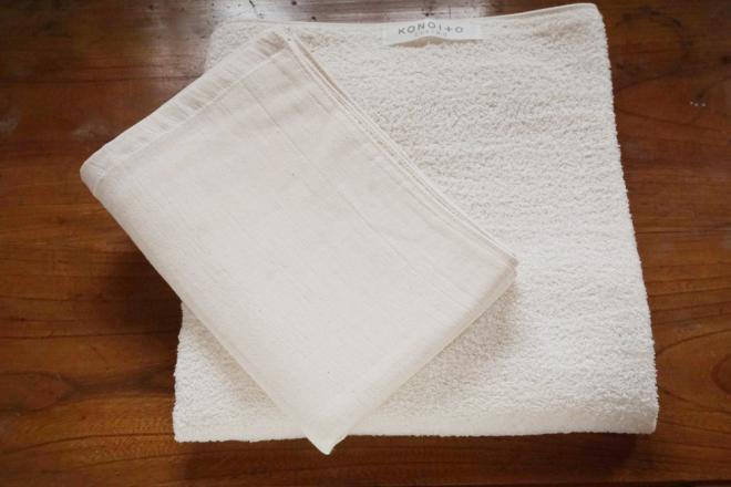 がーぜの大きめバスタオルとタオル100セット